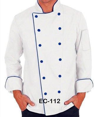 EC112 EXECUTIVE CHEF COAT