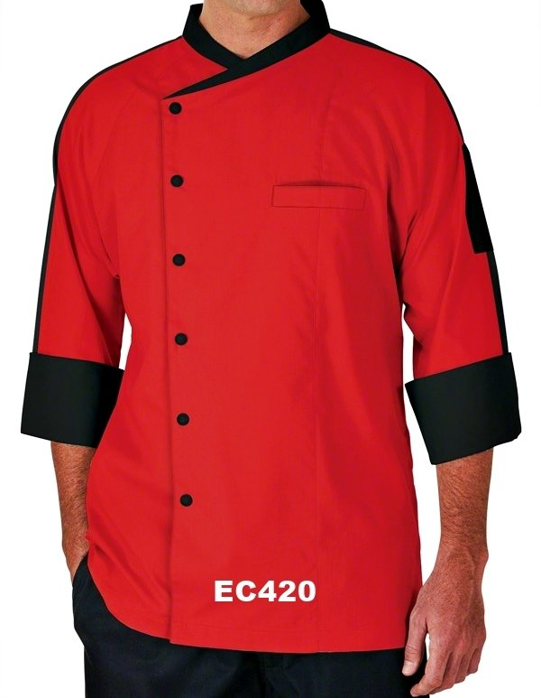 EC420 EXECUTIVE CHEF COAT