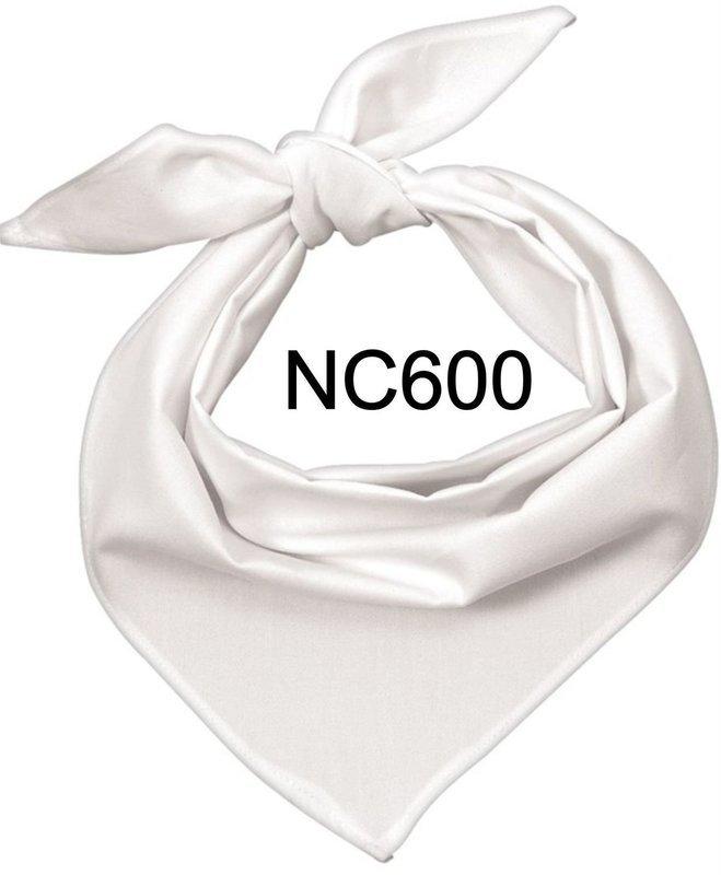 NC600 NECKERCHIEF WHITE