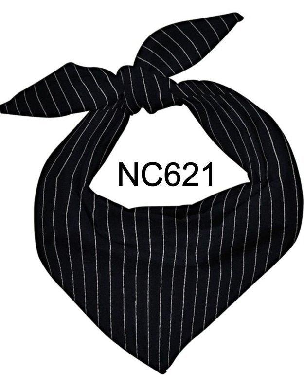 NC621 NECKERCHIEF PINSTRIPE
