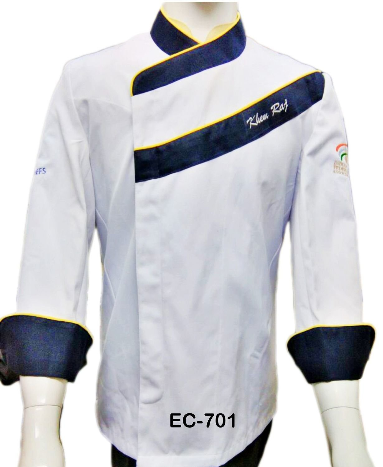 EC701 EXECUTIVE CHEF COAT