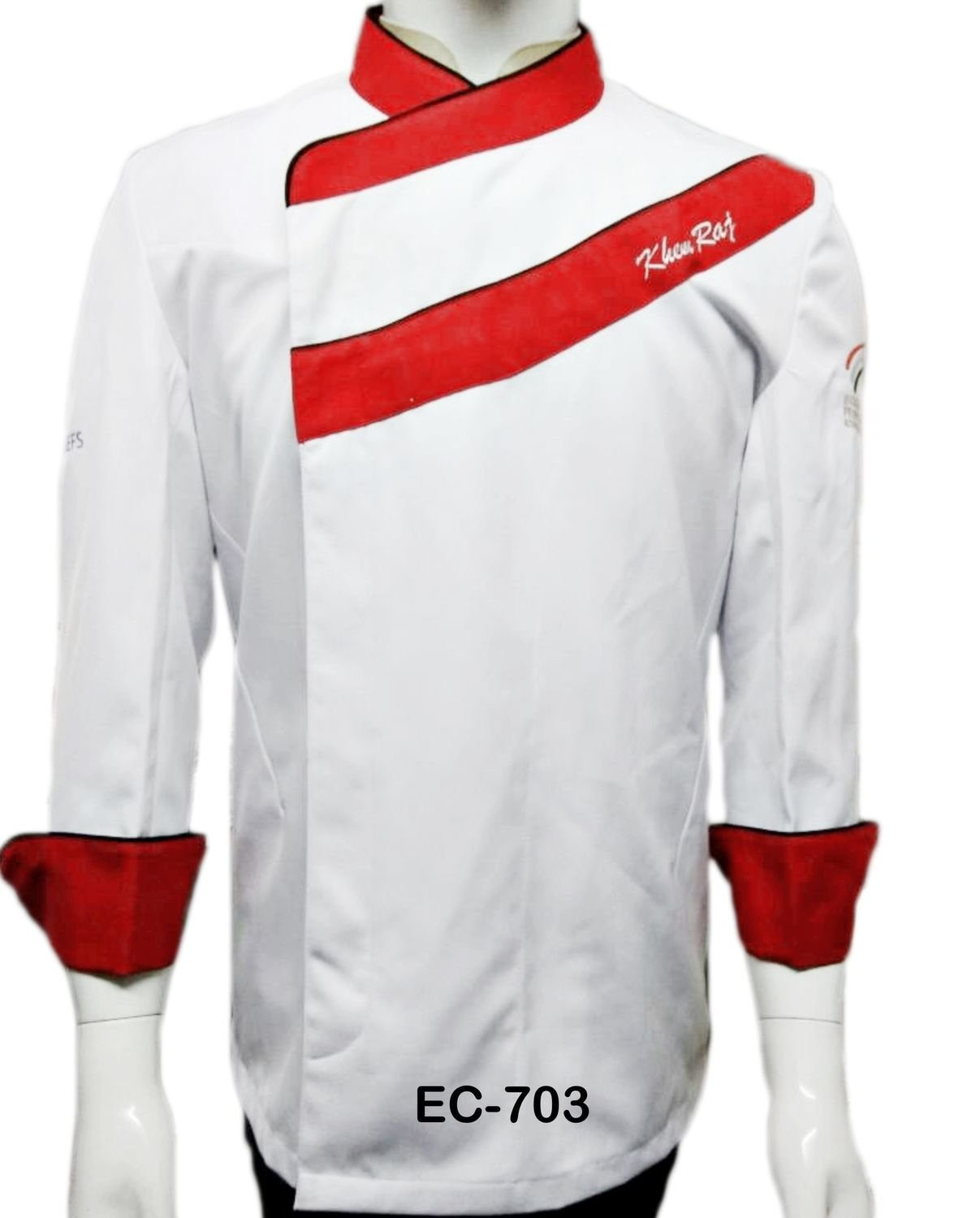 EC703 EXECUTIVE CHEF COAT