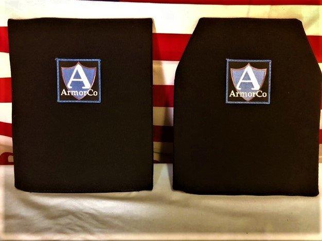 """Kevlar XP Soft Armor Panel NIJ IIIA 11"""" x 14"""" SAPI REC/BLK 2"""
