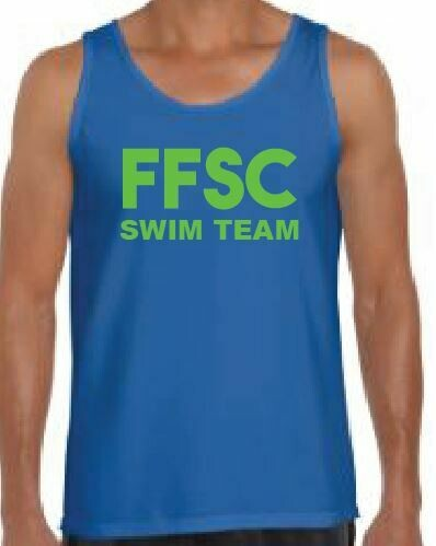 FFSC SWIM TEAM tank top