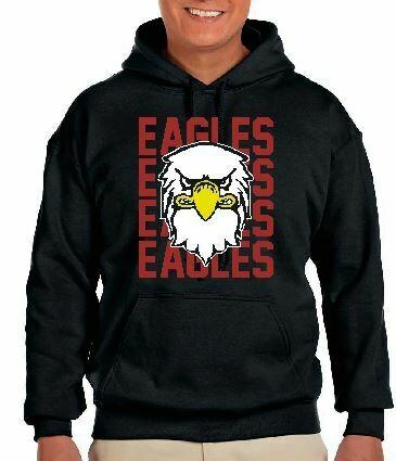 Eagles Bird Fleece Hoodie