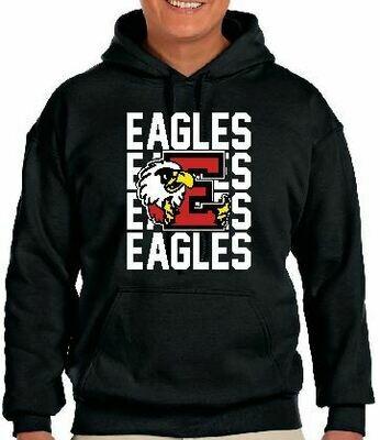 Eagles Logo Fleece Hoodie