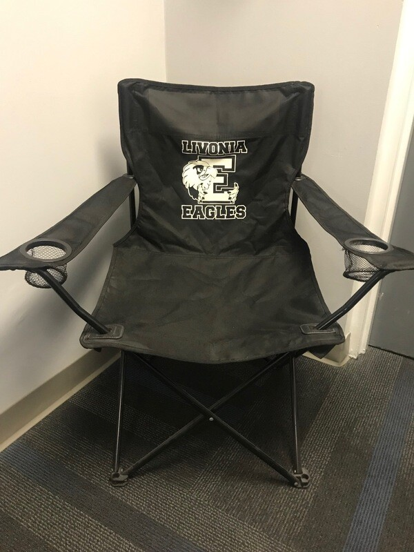 Eagles folding chair with carrying bag