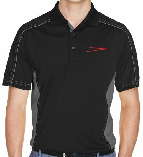 Skyway embroidered Ash City - Extreme Men's EperformanceTM Fuse Snag Protection Plus Colorblock Polo