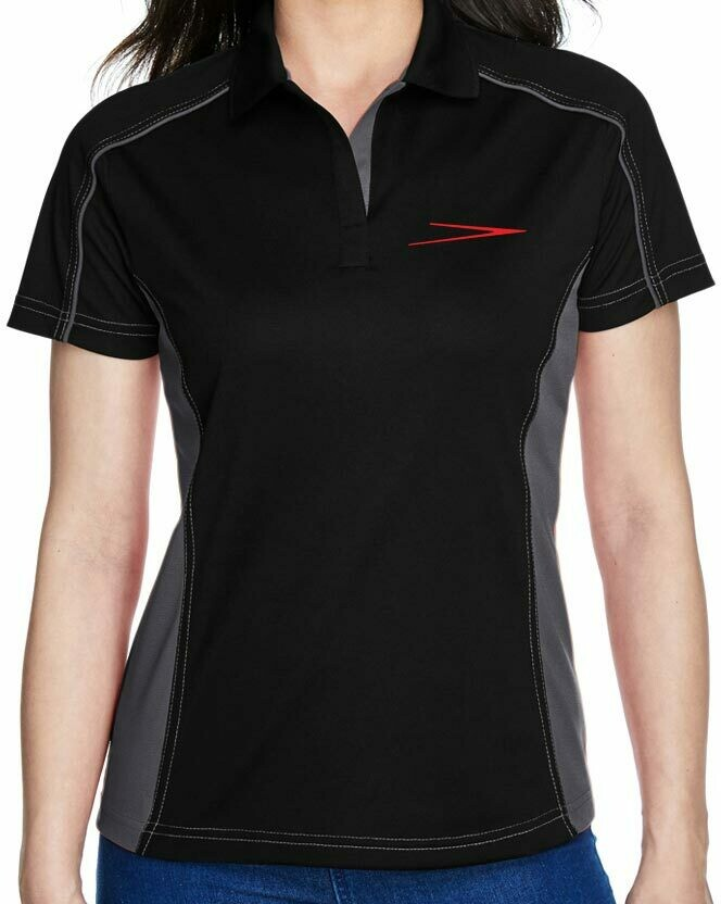 Skyway embroidered Ash City - Extreme Ladies EperformanceTM Fuse Snag Protection Plus Colorblock Polo
