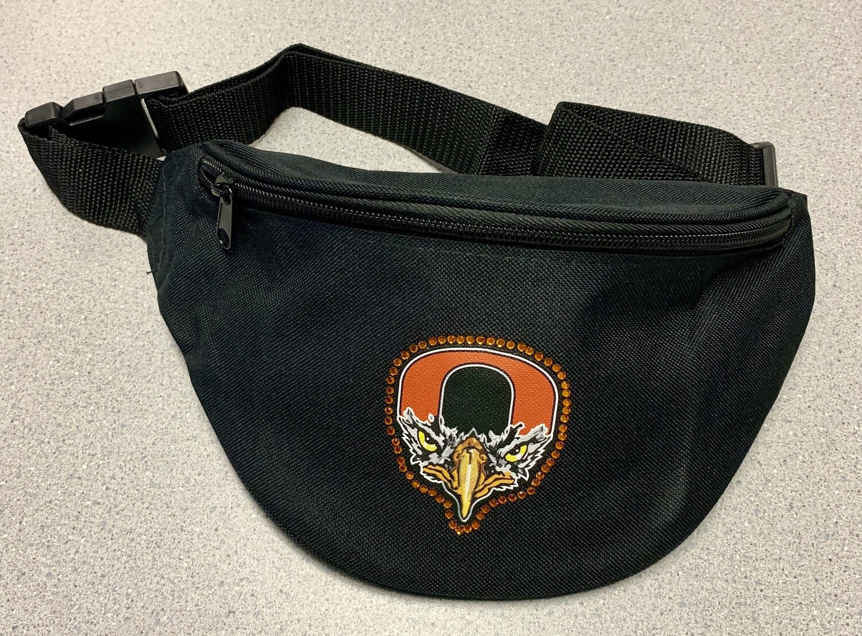 Orioles Bird Logo Rhinestone Fanny pack