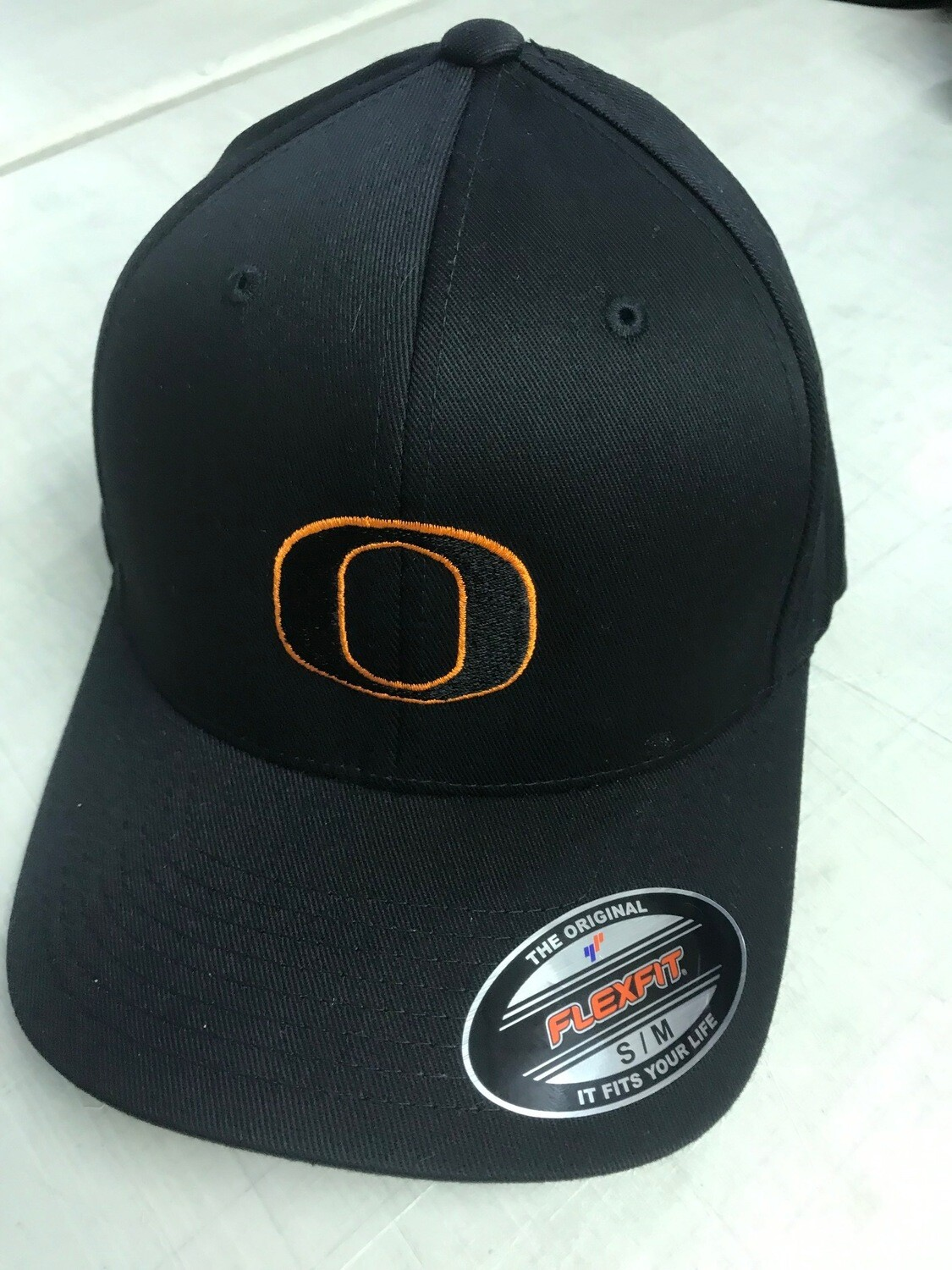 Orioles Flex Fit Hat with Black O