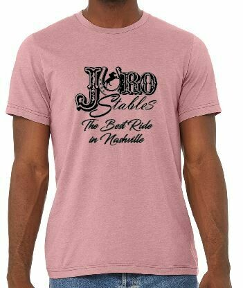 Juro Bella Canvas Unisex Heather Orchid or Heather Navy CVC T-Shirt