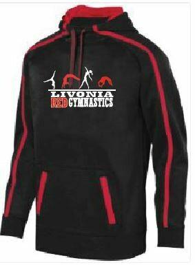 Livonia Red Design 2  Augusta Sportswear Stoked Tonal Hoodie