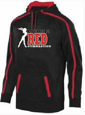 Livonia Red Design 1  Augusta Sportswear Stoked Tonal Hoodie