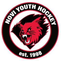 """Novi Youth Hockey Car Decal 6"""""""