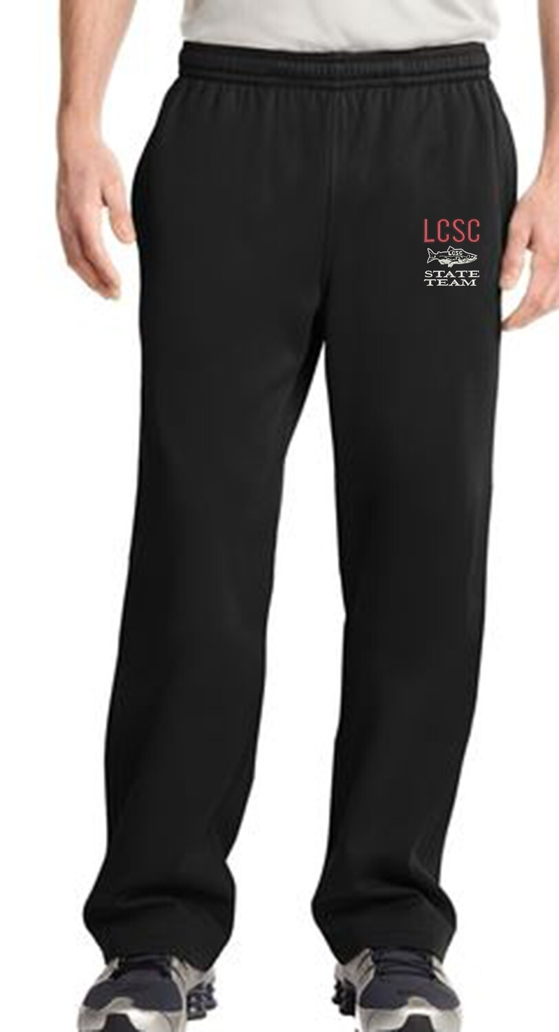 LCSC State Men's Sweat Pant with the Fish Logo