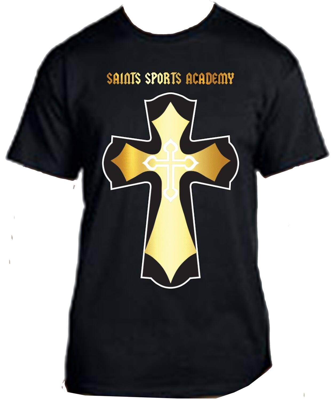 Saints T-Shirt- Black