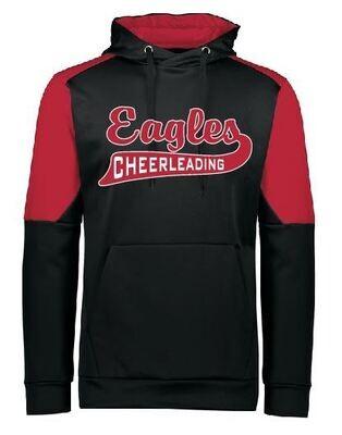 Eagle Cheer or Football Swoosh Dry-Excel Hoodie