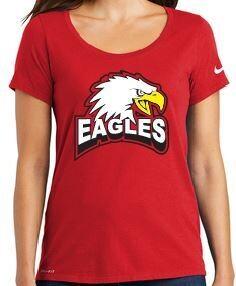 Eagles New Bird Ladies Nike tee