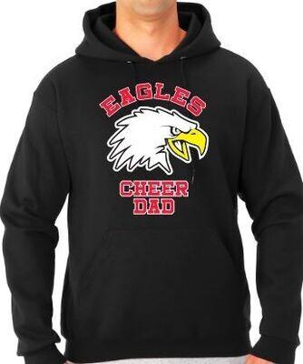Eagles New Bird CHEER DAD Hoodie