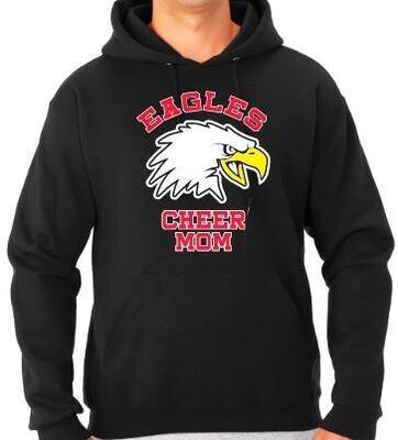 Eagles New Bird CHEER MOM Hoodie