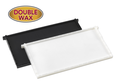 Plastic Frames with Plastic Wax Coated Foundation