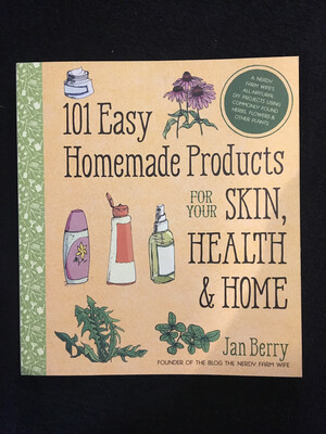 101 Easy Homemade Products Book