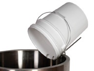 Stainless Steel Pail Perch