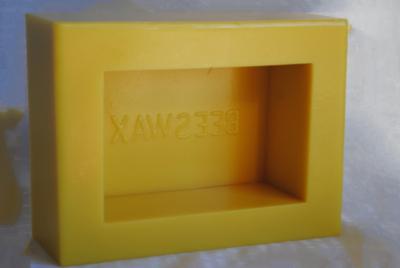 Silicone Beeswax Mold - 2 Pound Bar