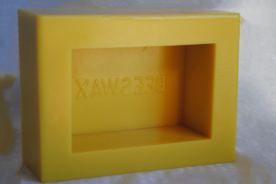 Silicone Beeswax Mold - 1 Pound Bar