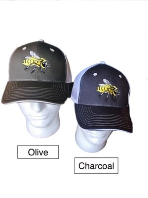 Honey Bee Vented Ball Caps