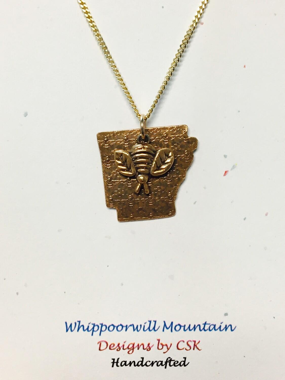 Whippoorwill Mountain Arkansas Bee Necklace