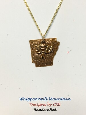 Whippoorwill Mountain Arkansas Bee Necklace