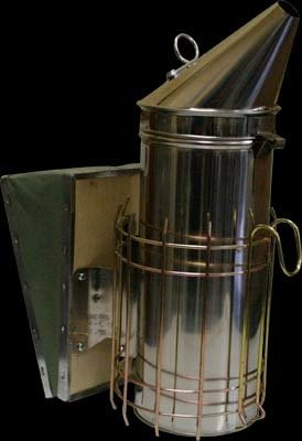 Stainless Steel Smoker with Shield 4x10