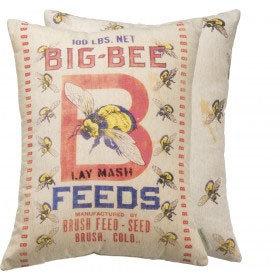 Big Bee Pillow