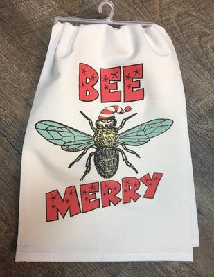 Bee Merry Handmade Towel