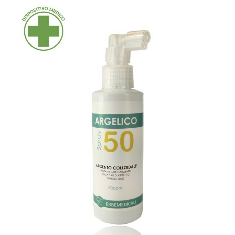 ARGELICO® - Argento Colloidale Purissimo 50 PPM - 150ml