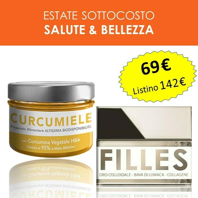 PROMO SALUTE E BELLEZZA: 1 Curcumiele 110g + 1 Crema Filles