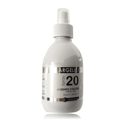 ARGELICO20® - Argento Colloidale Purissimo 20 PPM - 250ml
