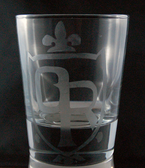 Ouran High School Crest Etched Glass CD-005