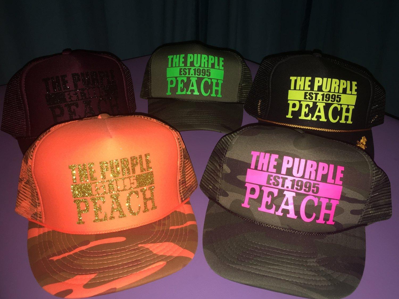 The Purple Peach Hats