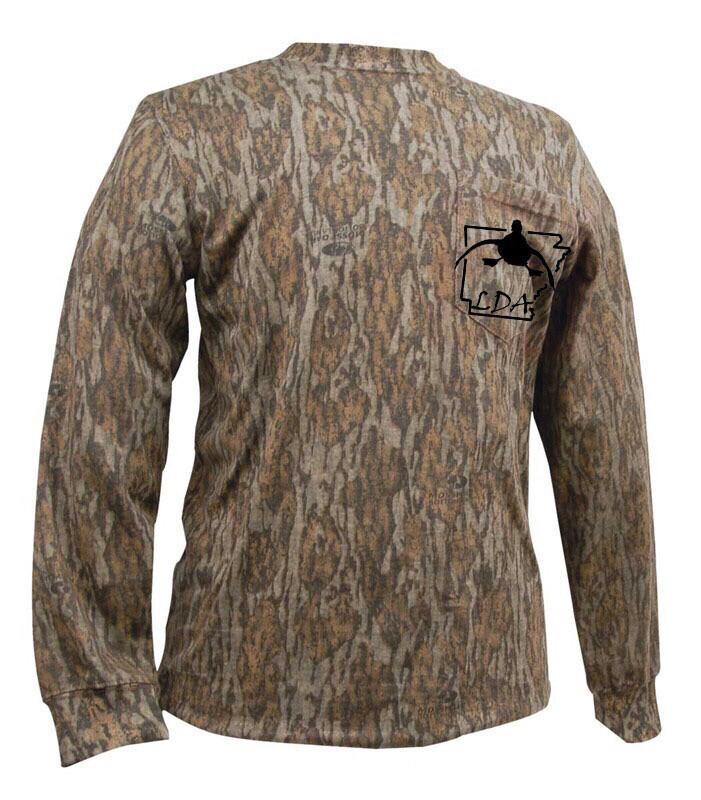 Locked Up Arkansas Camo LS with Pocket