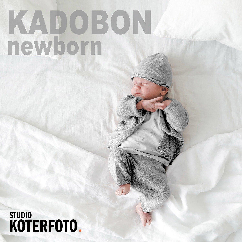 Kadobon fotoshoot newborn (1 persoon(tje))