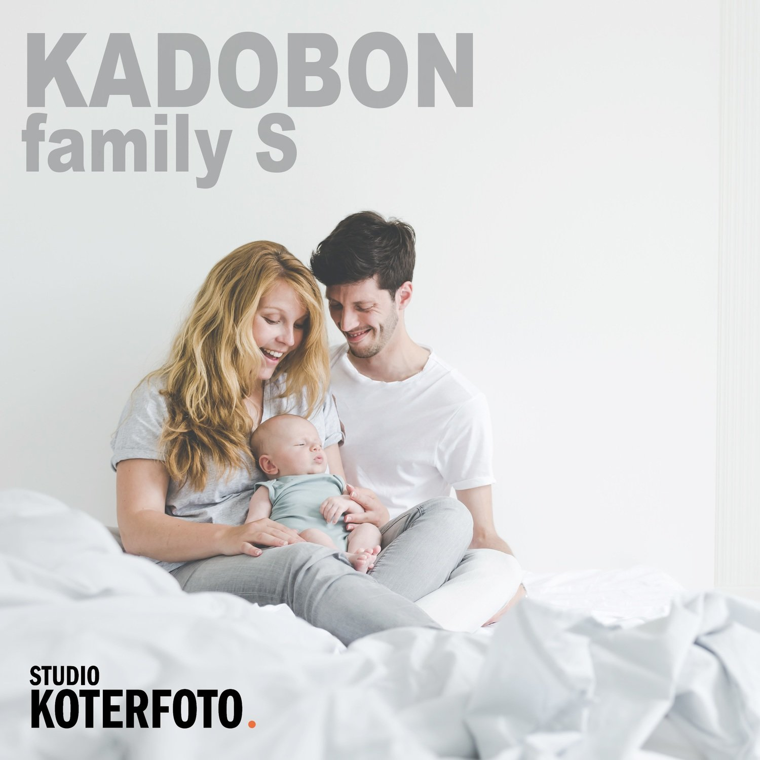 Kadobon fotoshoot family small (3 pers.)
