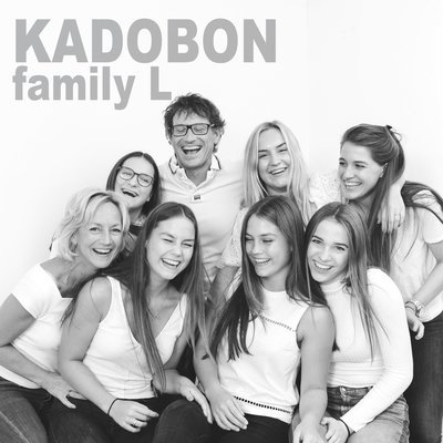 Kadobon fotoshoot family big (8 pers.)