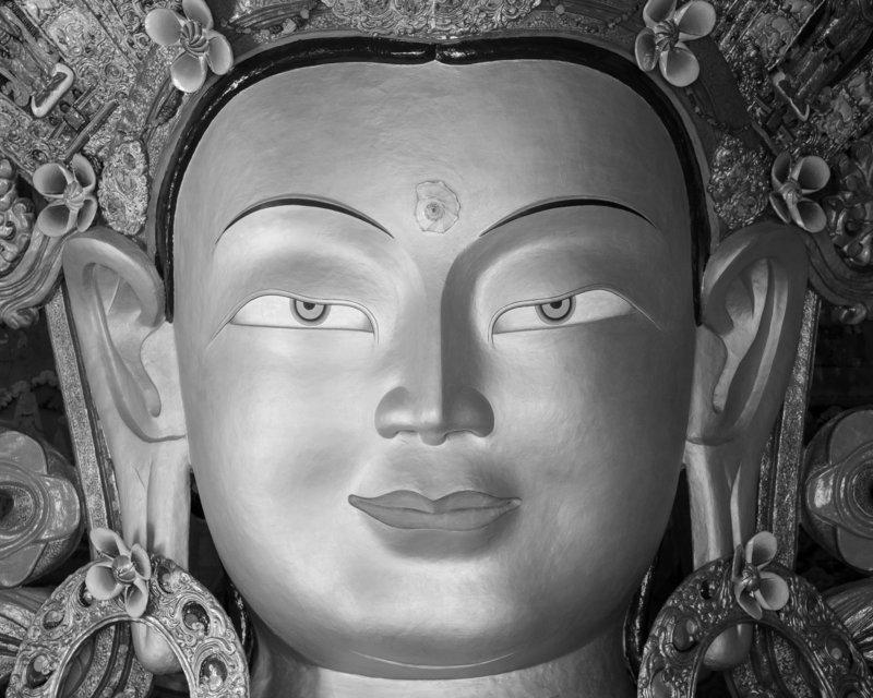 Il Buddha di Tiksey