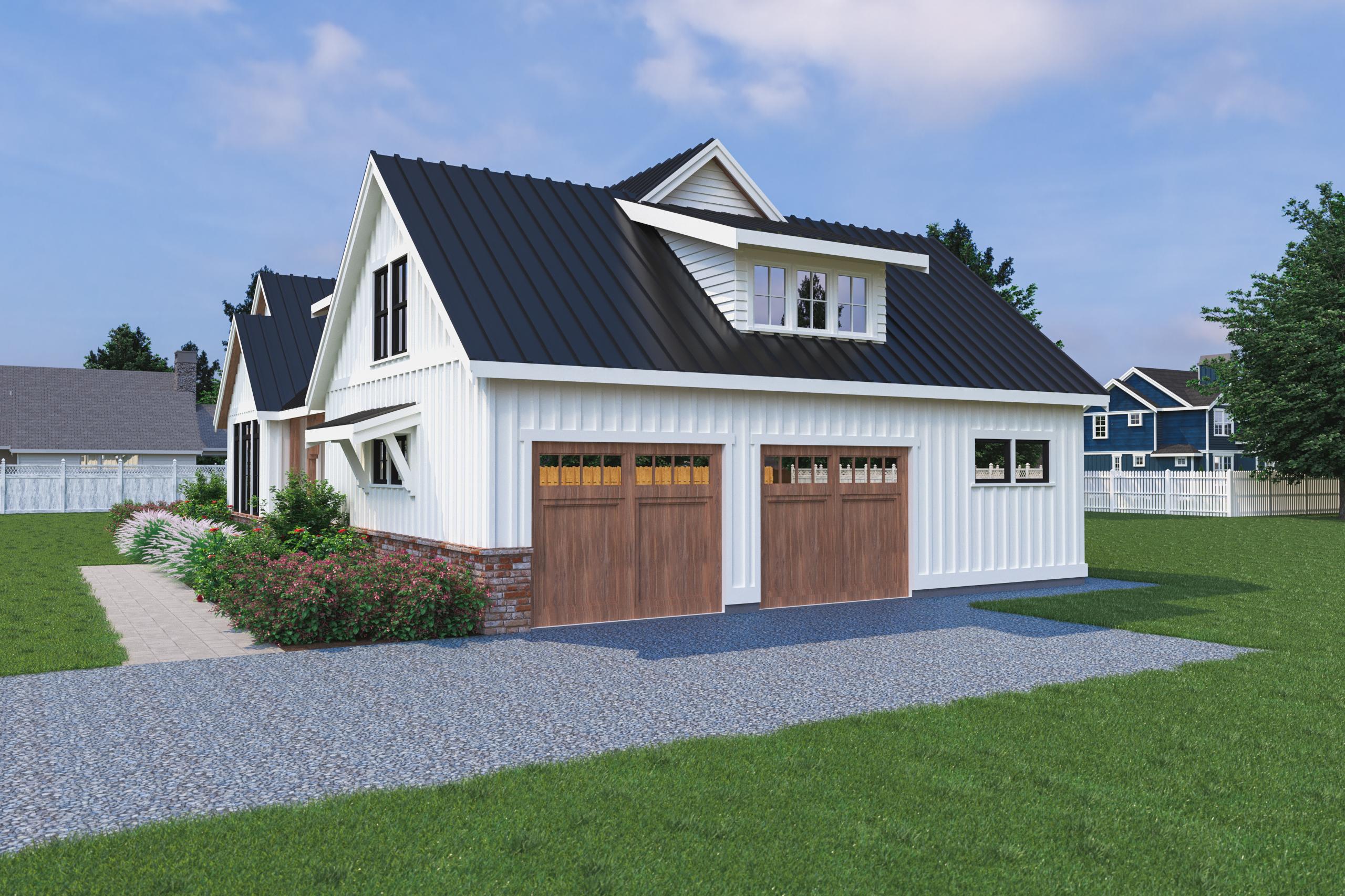 Contemporary Farmhouse 822