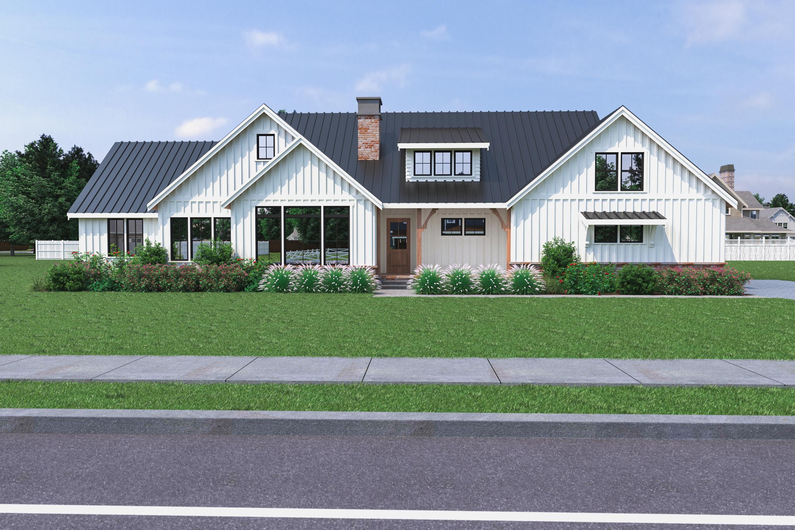 Contemporary Farmhouse 822 822