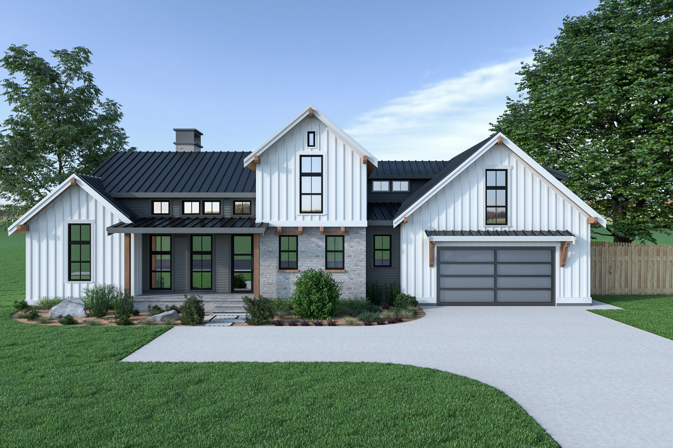 Contemporary Farmhouse 820 820
