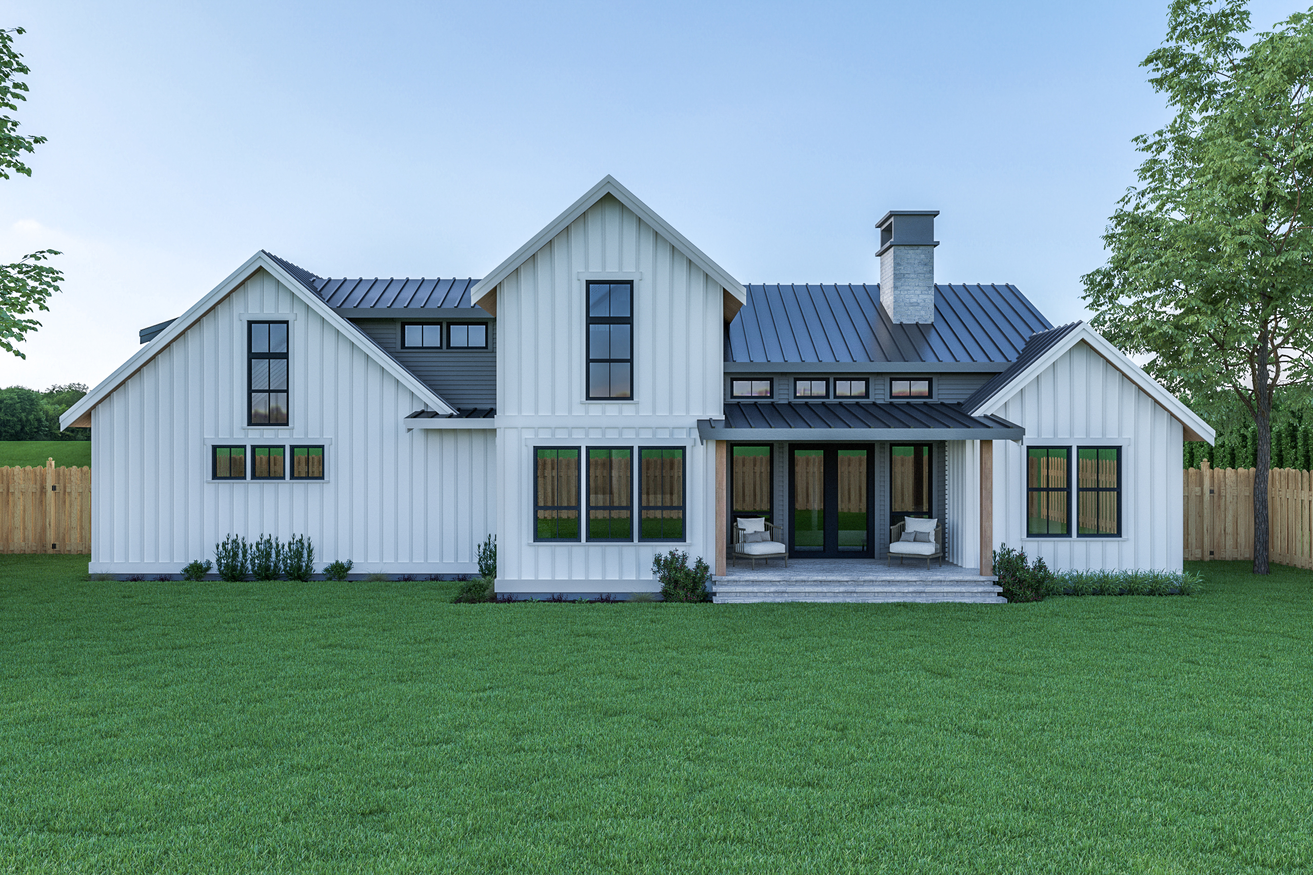 Contemporary Farmhouse 820
